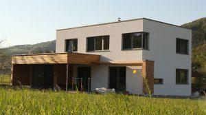 EInfamilienhaus in Ziegelbauweise