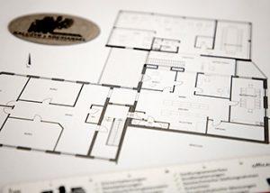 Haus bauen - Entwurf